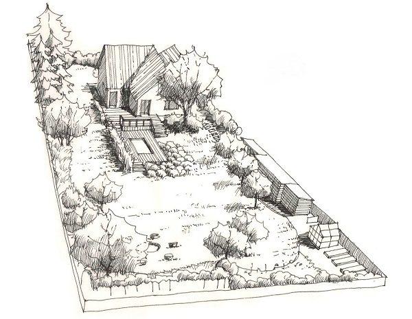 návrh rekonstrukce zahrady - alterstudio
